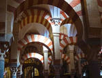 Arches of Mezquita by baronjungern