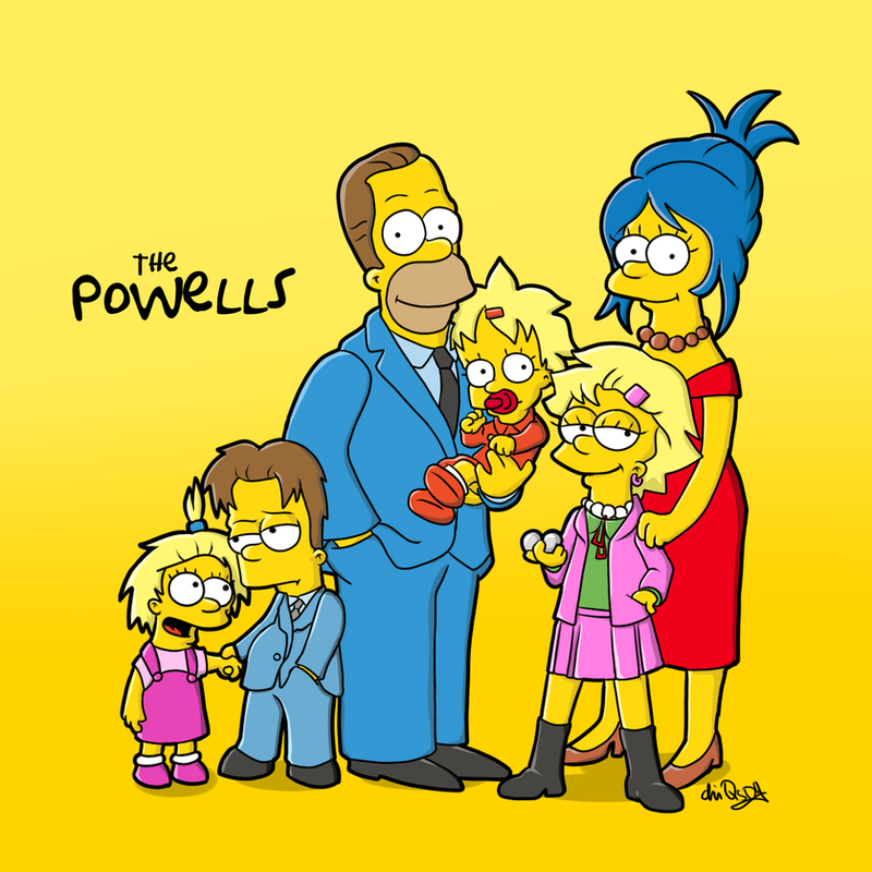 simpsons yellow family The simpsons (the family and the show) has provided viewers with lots of  their  claim to being the home of the famous yellow-tinted family.