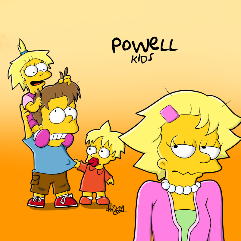 The Powell kids by chiQs09