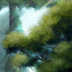 Free background #1 - Trees by Katrinity20