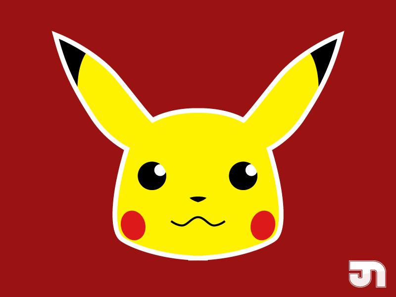 Pikachu Logo By Jimmynutini On Deviantart