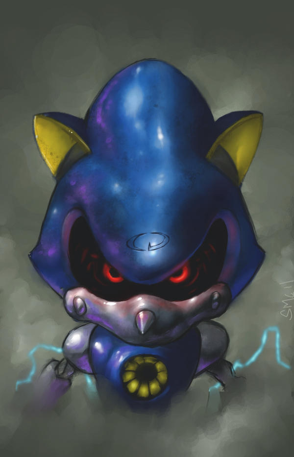 Sonic CD contest entry: Metal Sonic by StewartMortimer