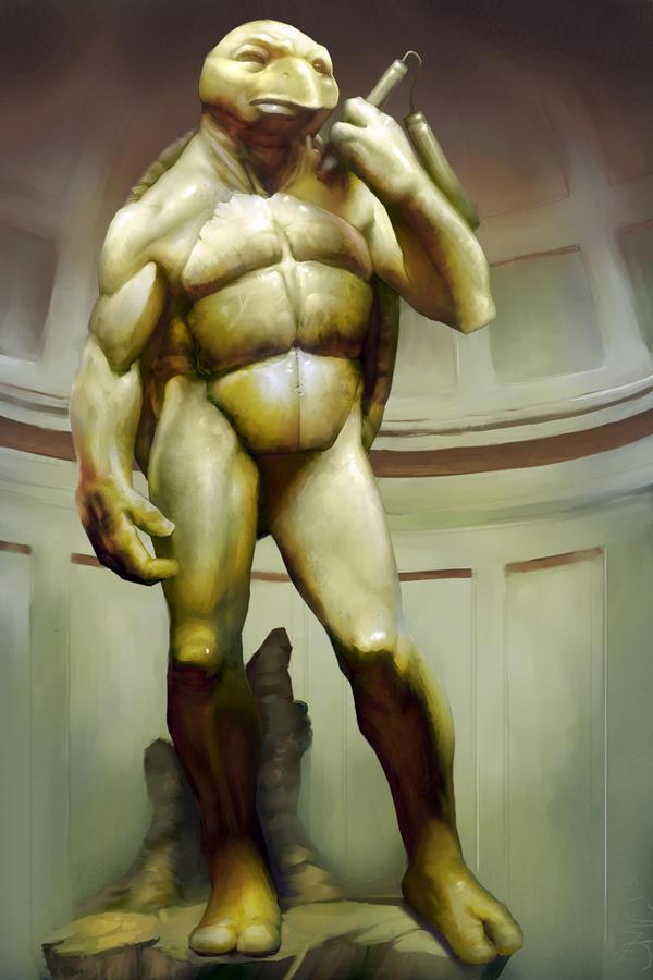 Michelangelo by StewartMortimer