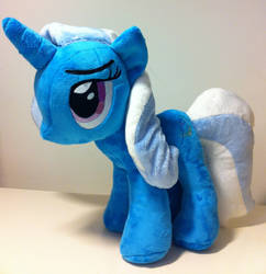 Trixie has a tail! by CasseminaPie