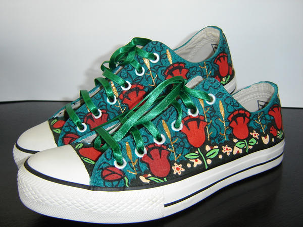 Art Nouveau Converse All-Star by nicneven