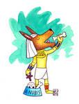 Chibi Gods return_  Anubis