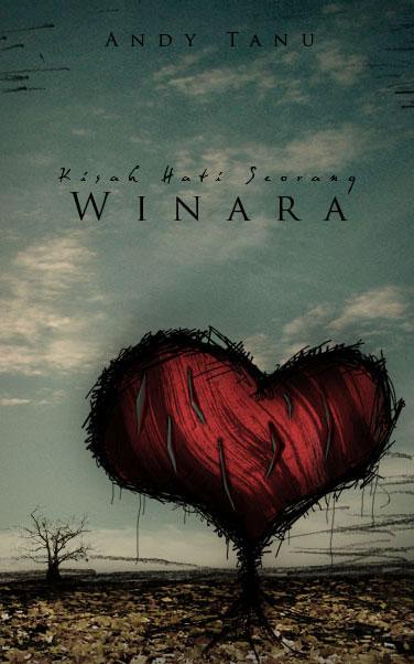 Hati Winara - novel cover by endoers