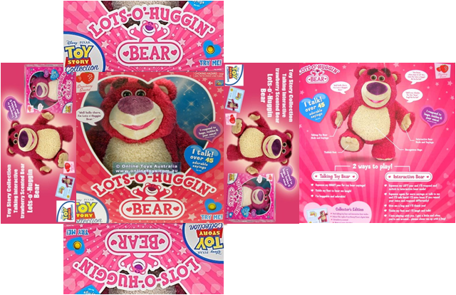 Bear from Toy Story Packaging by swimswimstacey on DeviantArt