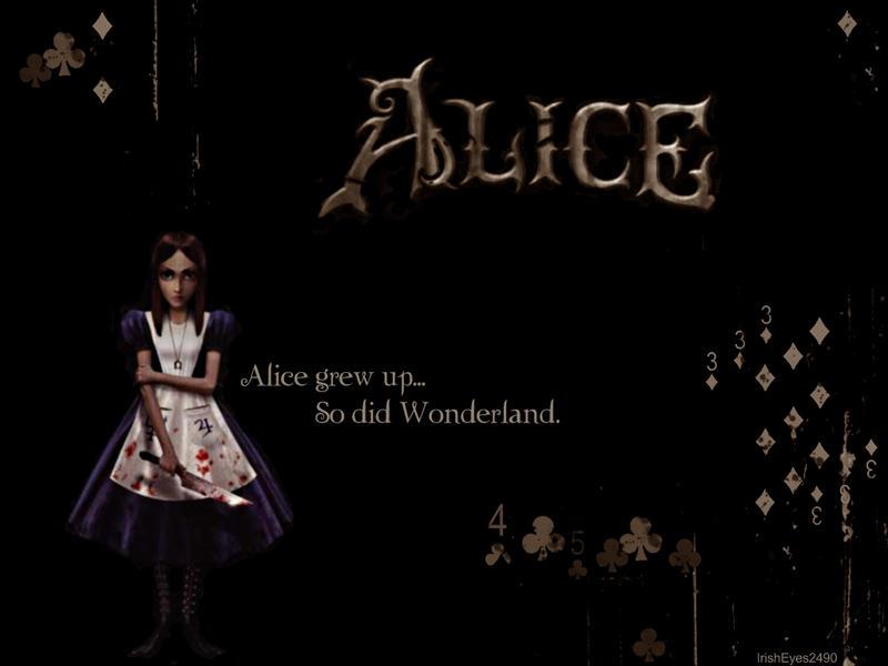 American McGee - Alice Desktop by IrishEyes2490