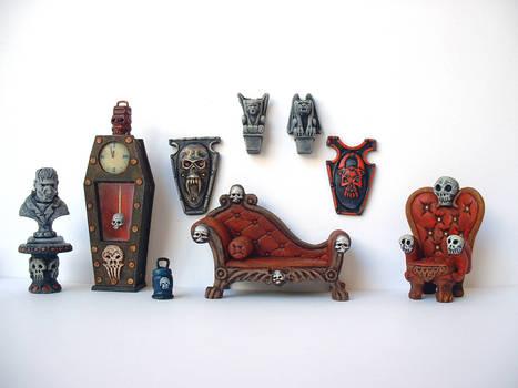 Miniature Gothic Furniture