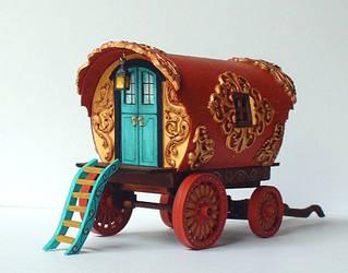Fantasy Gypsy Vardo by clevella
