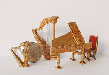 Miniature music room by clevella