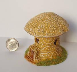 Magic Mushroom House by clevella