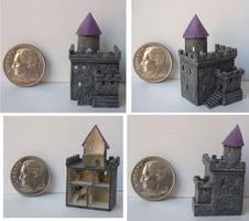 Tiny Dollhouse Castle