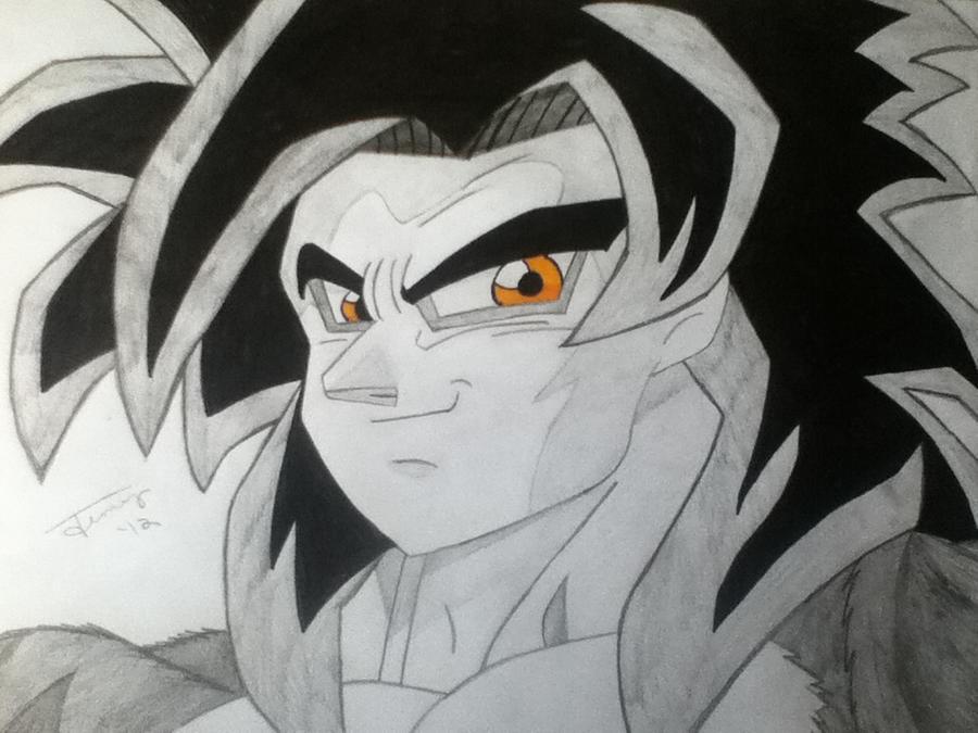 SSJ 4 Goku by AlphaTigron