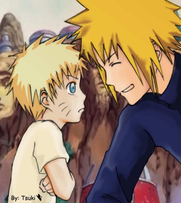 Yamanaka Ino By Rice Su On Deviantart: Naruto Kun Y Su Padre. By Tsukineechan On DeviantArt