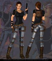 Comic Book - Explorer outfit by xXxImNotOkayxXx