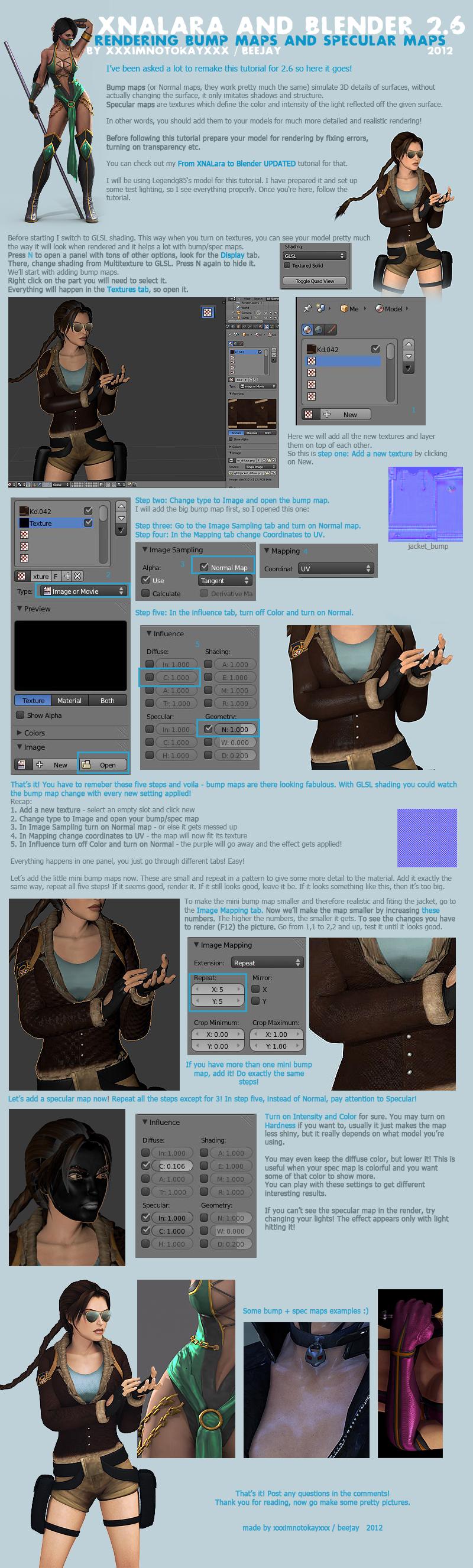 Blender 2.63 rendering - bump and specular maps by xXxImNotOkayxXx