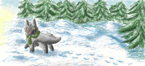 Snowdrift by Yamashita-akaDoragon