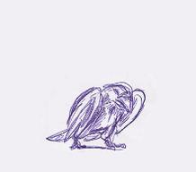 WIP Animation: Crow by Yamashita-akaDoragon