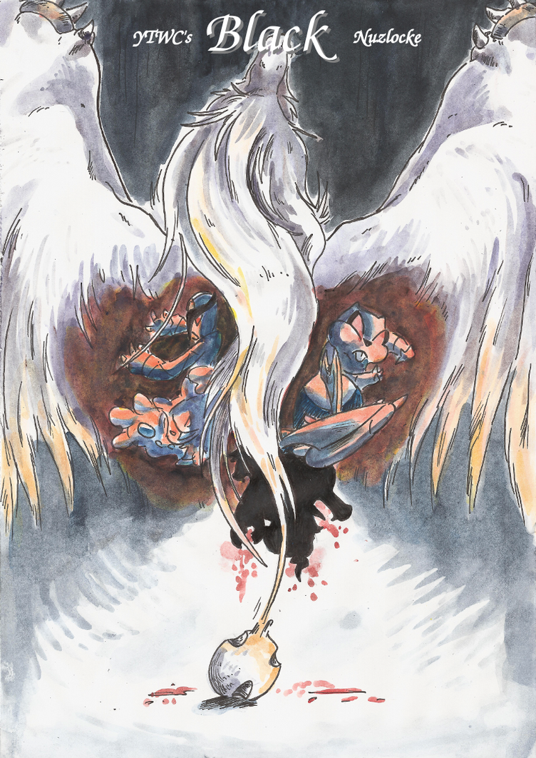 YTWC's Black: Cover by Yamashita-akaDoragon