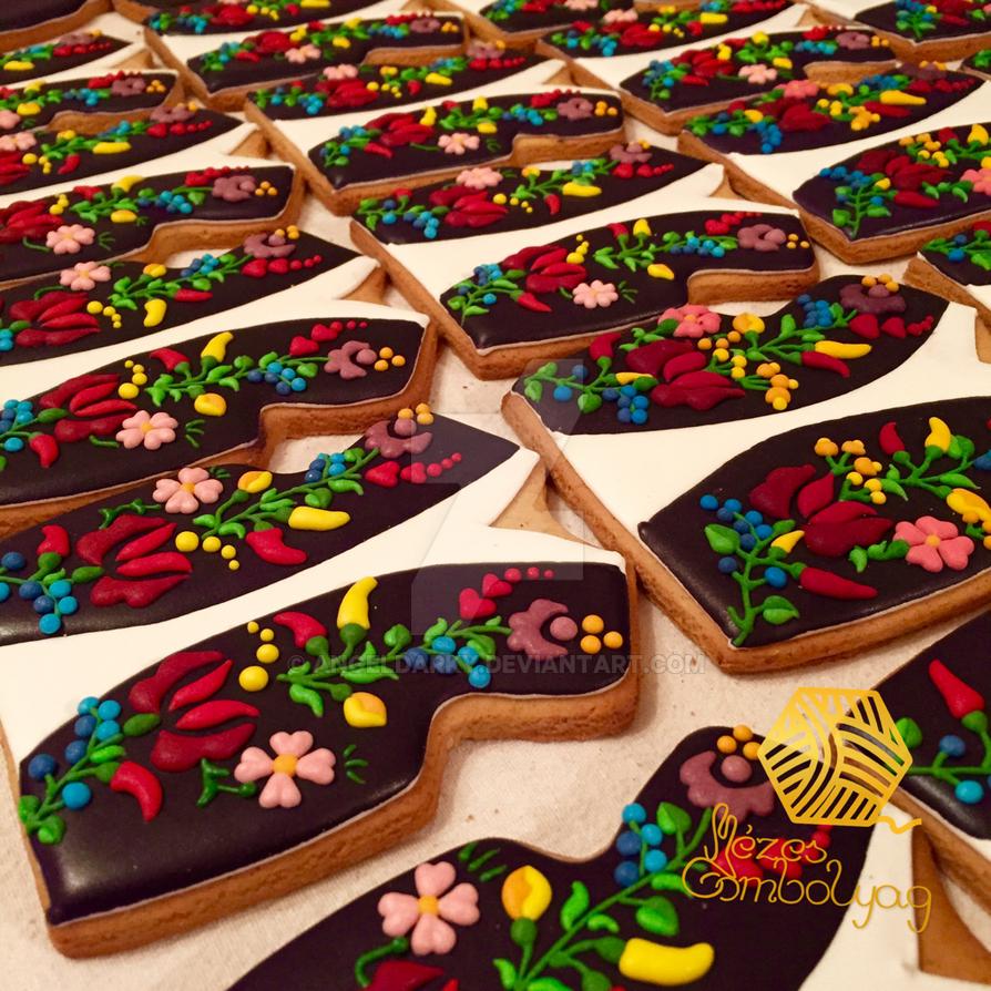 Gingerbread Cookies by AngelDarky