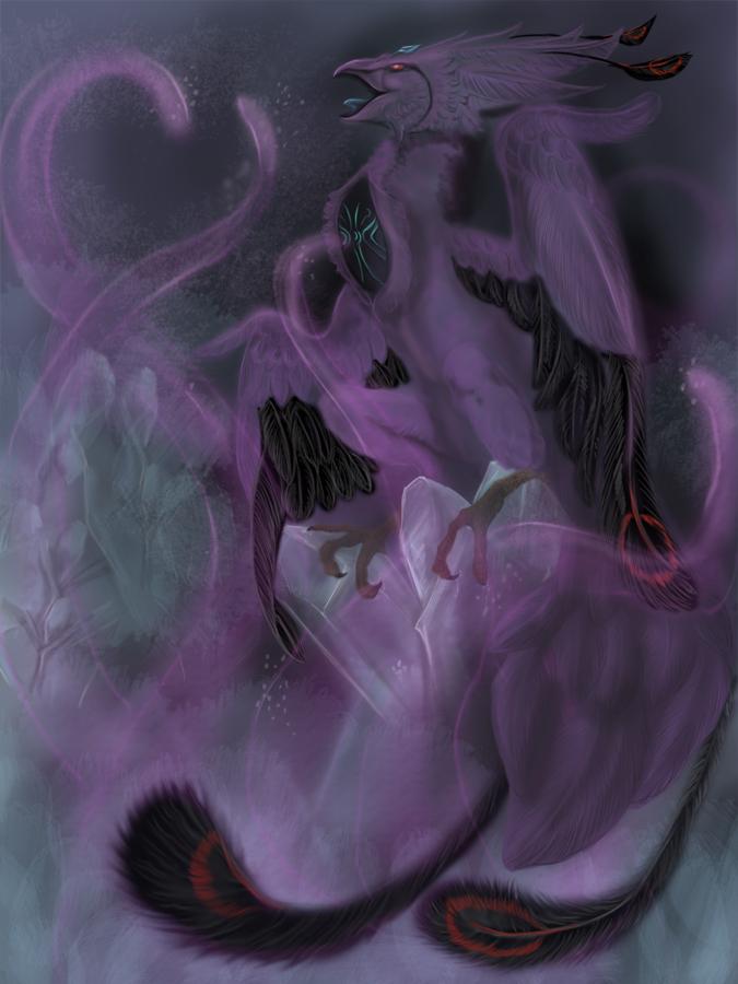 Anivia void skin by Jerhaia-Tsukikitsune