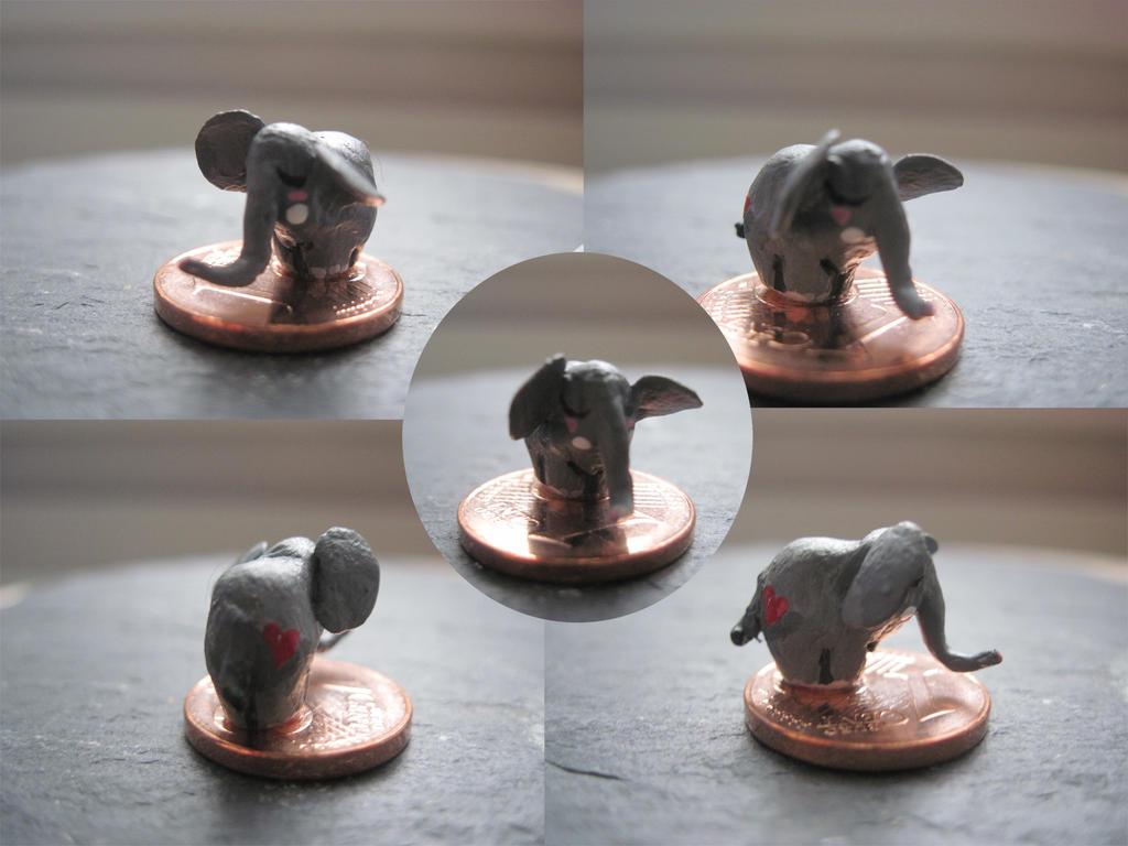 1cent elephant by Jerhaia-Tsukikitsune
