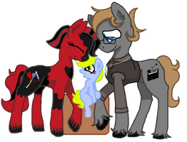 ''Wuv you, mama and daddy!'' by SummerSketch-MLP