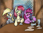 Background Fillies Havin' Milkshakes