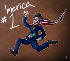 America's Hero Colbert by JoRoBro