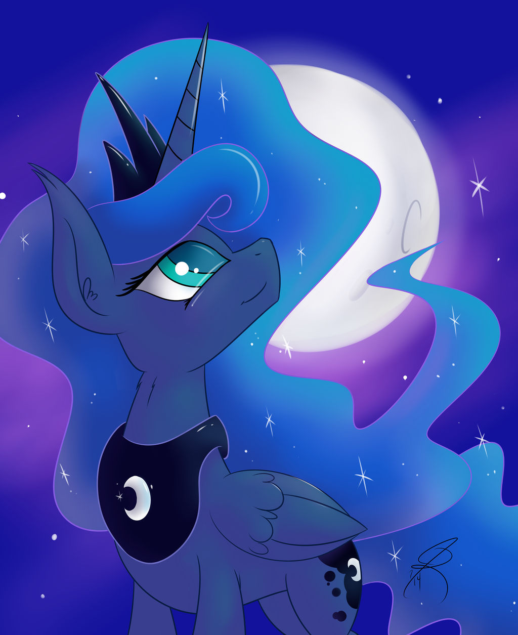 Luna and Her Night