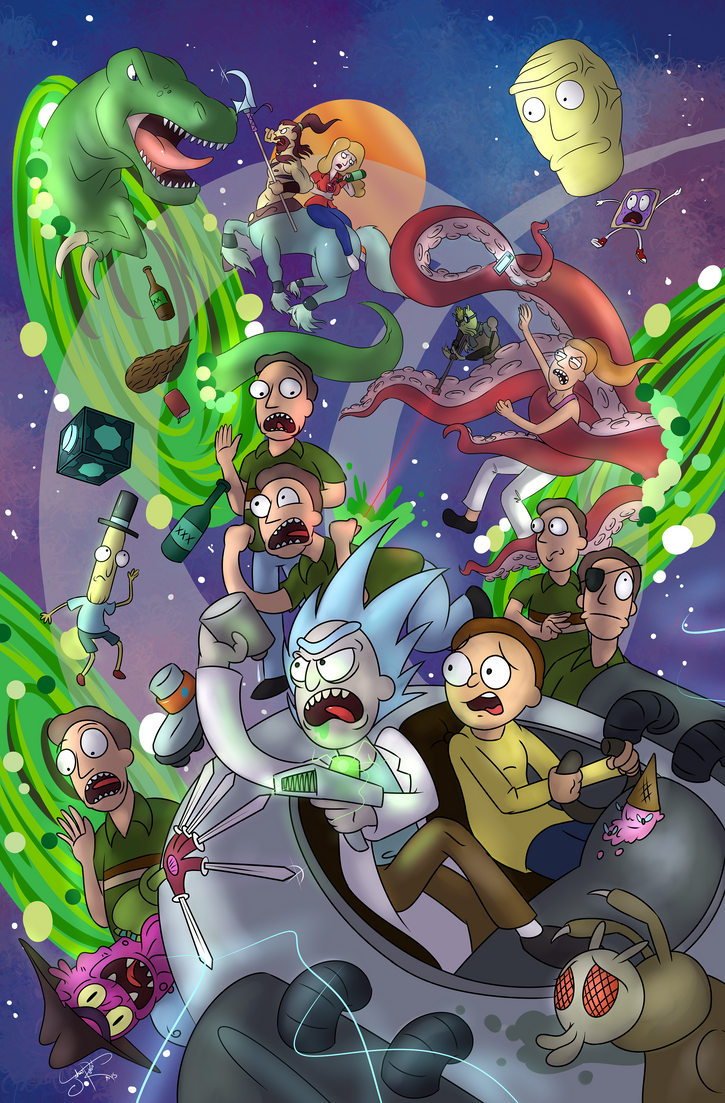 The Worst Dimension M-Morty -ERP- Ours by Johansrobot