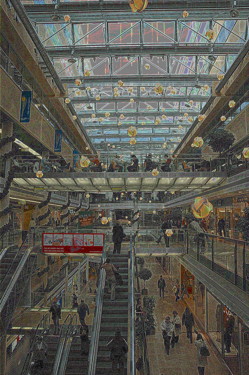 Shopping Mall by LousyAnne