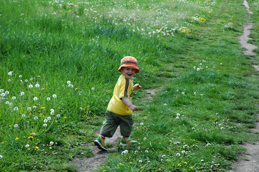 Running ... by LousyAnne