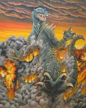 Godzilla Ignites the Sky