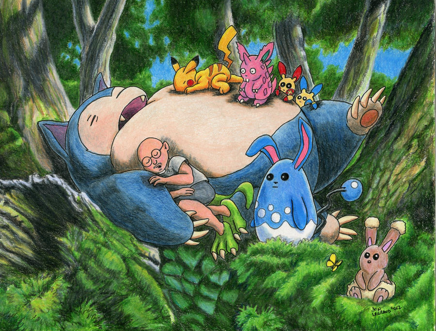 LeGrandzilla's Pokemon Nap Time by Legrandzilla