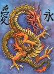 Chinese Dragon Love Eternal by Legrandzilla