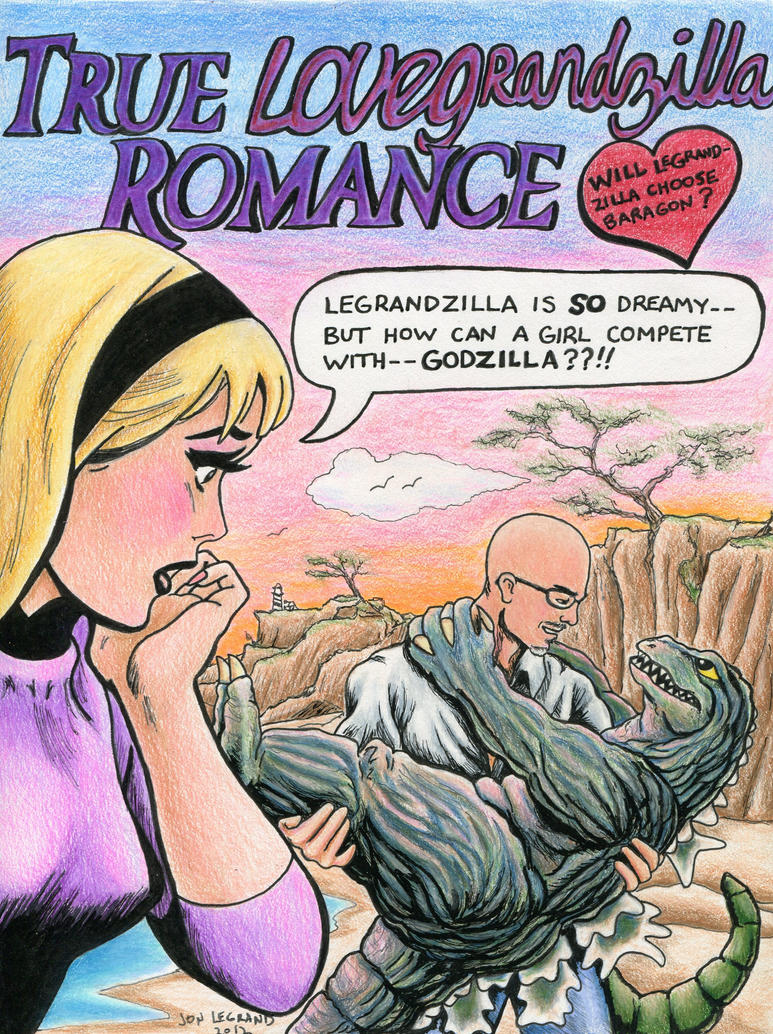 True LoveGrandzilla Romance Comic Cover by Legrandzilla