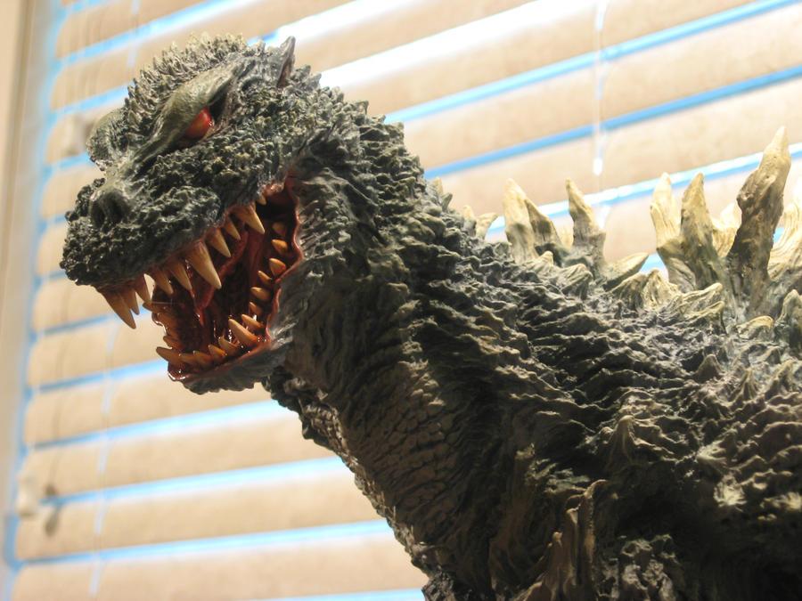 Face of Godzilla 54 Future by Legrandzilla