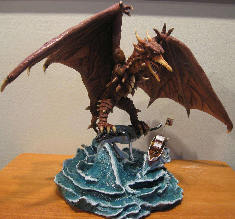 Rodan Finished! by Legrandzilla