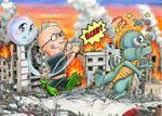 LeGrandzilla VS Godzilla (Defending Pop's Honor) by Legrandzilla