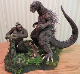 Godzilla VS King Kong Finished! by Legrandzilla