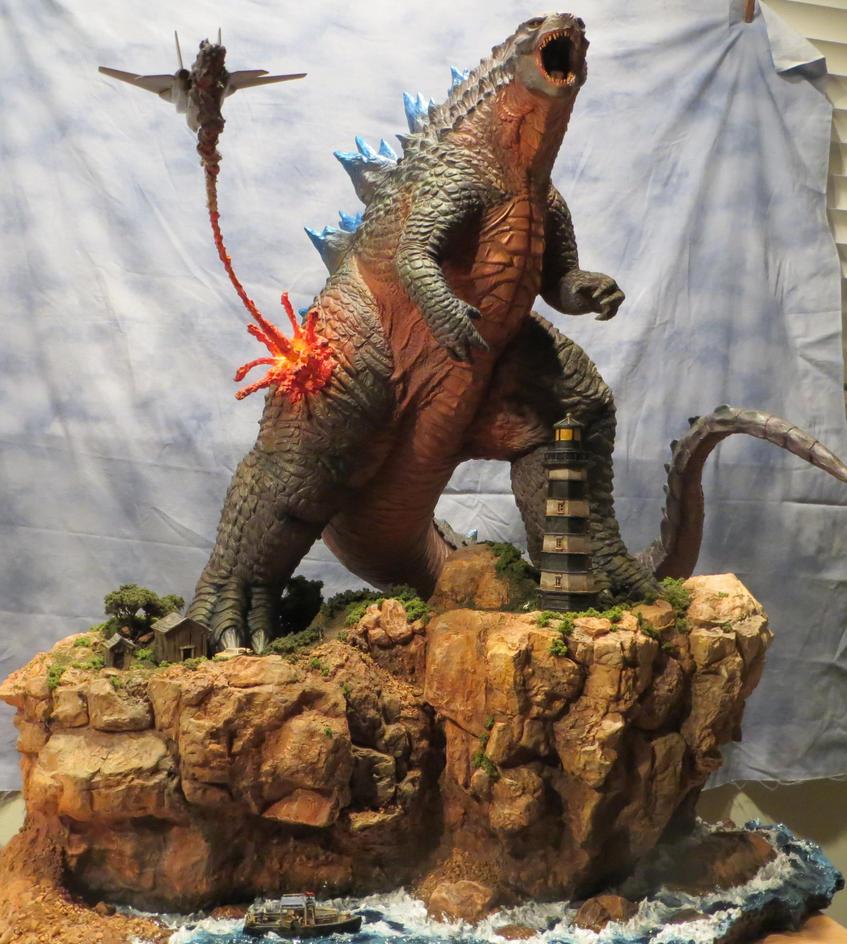 Godzilla 2 Imax Poster Textless: 2014 Godzilla Finished #2 By Legrandzilla On DeviantArt