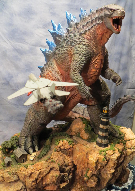 2014 Godzilla Finished #1 by Legrandzilla