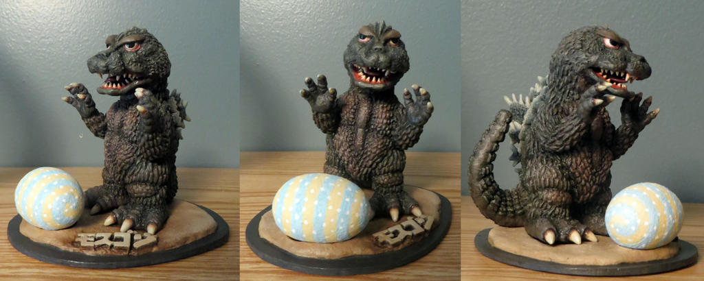 Ultra Ya Hobby Godzilla 64 Finished by Legrandzilla