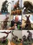 Art VS Artist Dioramas