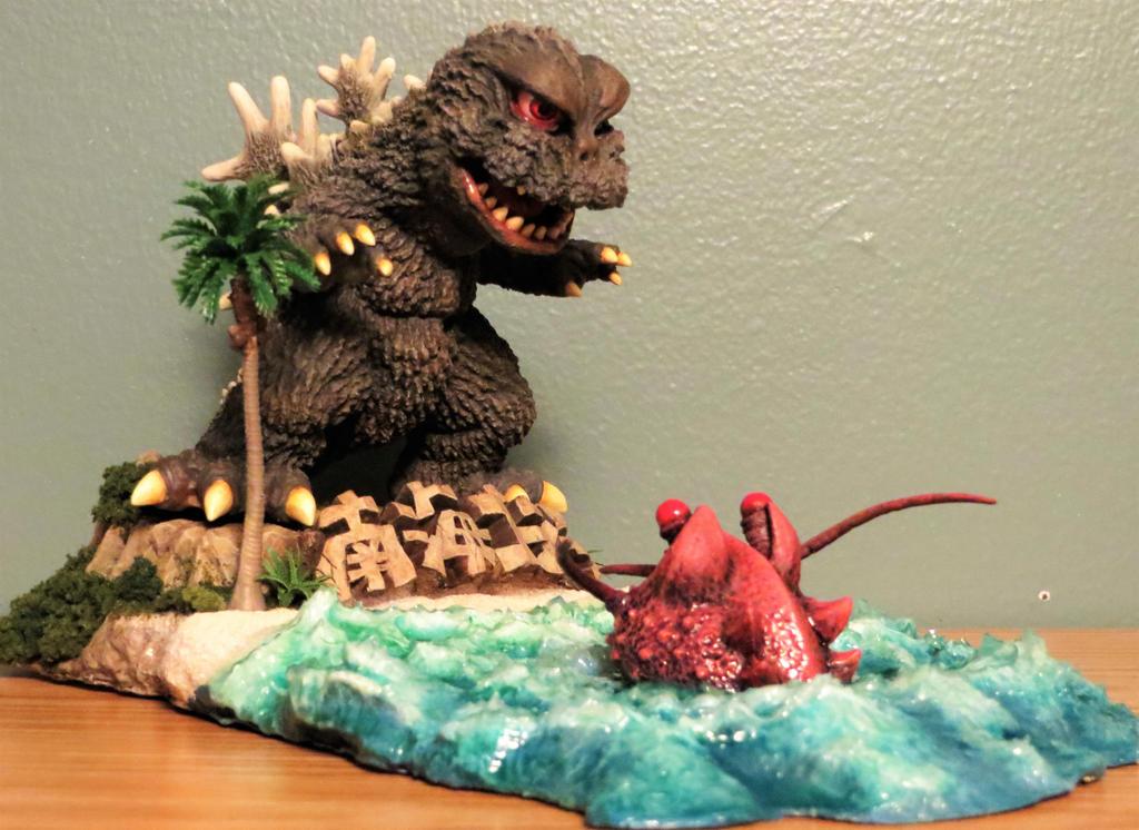 Godzilla At Lobsterfest! by Legrandzilla