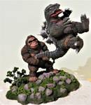 Godzilla VS King Kong Little Big Swing