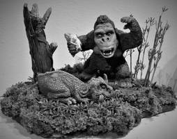 Mike Parks Kong Black and White